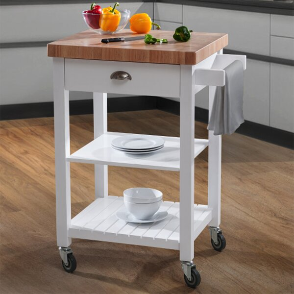 Haller Kitchen Cart by August Grove