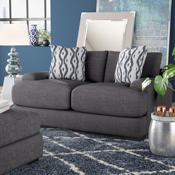 Modern Collection Ally Loveseat by Brayden Studio by Brayden Studio