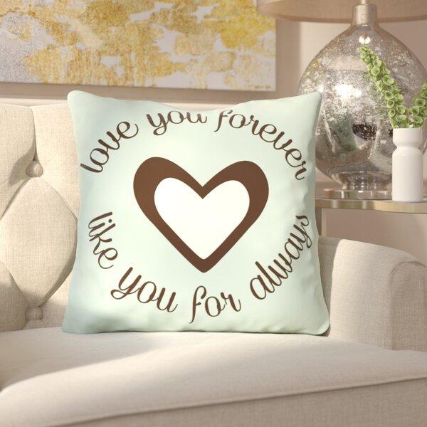 Cabalzara Throw Pillow by House of Hampton