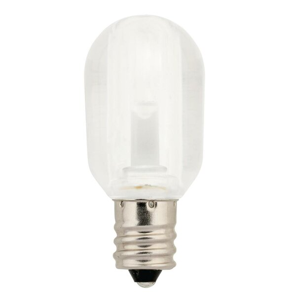 1W E12 LED Edison Light Bulb by Westinghouse Lighting