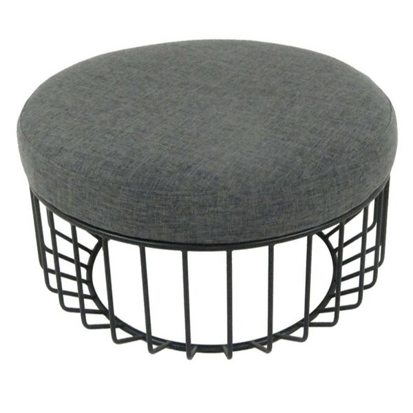 Mcnab Chic Cage Base Cocktail Ottoman by Ivy Bronx