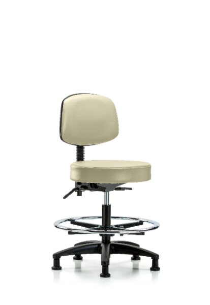 Abagail Bench Height Adjustable Lab Stool by Symple Stuff