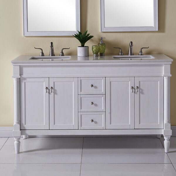 Deina 60 Double Bathroom Vanity Set by Darby Home Co