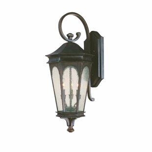 Comparison Inman Park 3-Light Outdoor Wall Lantern By Capital Lighting