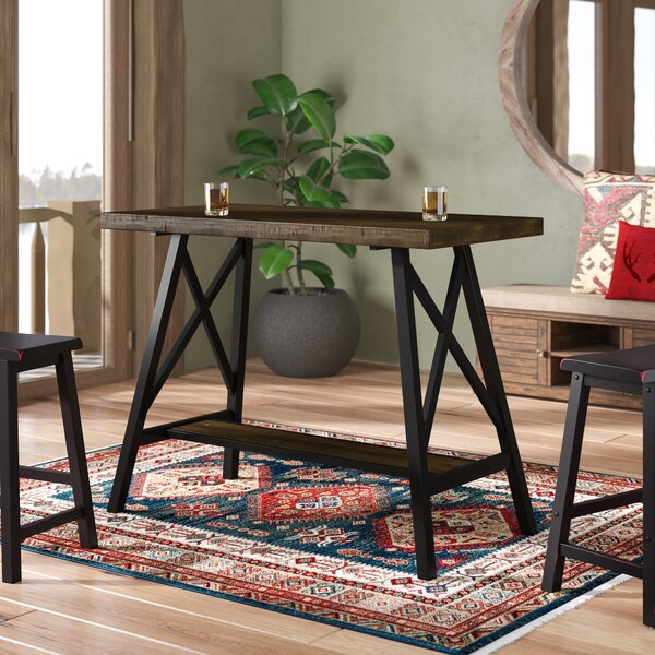Mount Shasta Counter Height Pub Table by Loon Peak