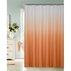 orange and brown shower curtain. Petersham Spa Bath Shower Curtain Orange Curtains You ll Love  Wayfair