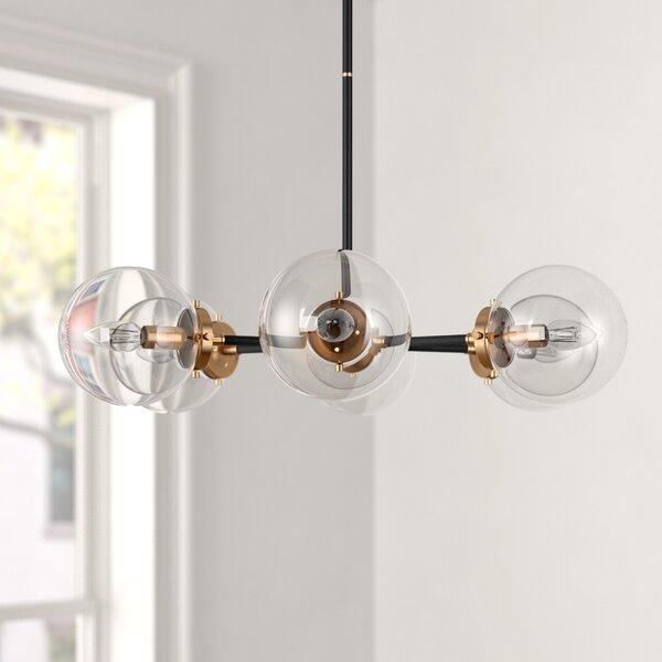 Shontelle 6 - Light Sputnik Sphere Chandelier by Foundstone Foundstone