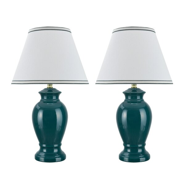 Cabrini Ceramic 21.5 Table Lamp (Set of 2) by Red Barrel Studio