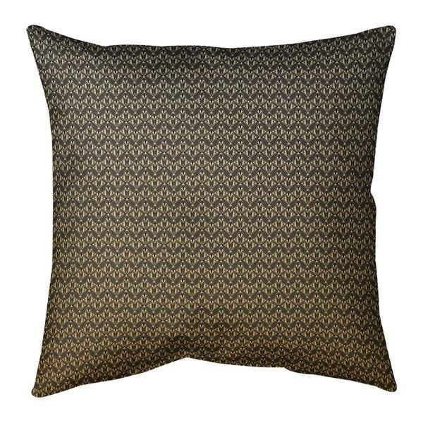 Mcguigan Ombre Art Deco Indoor/Outdoor Throw Pillow