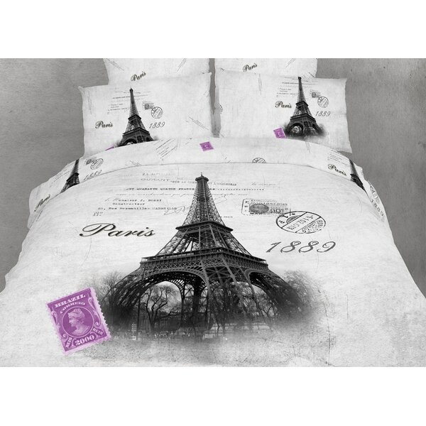 Novelty Paris Duvet Cover Set by Dolce Mela