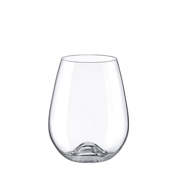 Drink Master Wine 11 oz. Glass Cocktail Glasses (Set of 4) by RONA
