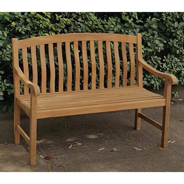 Seymour Teak Garden Bench by Crestwood