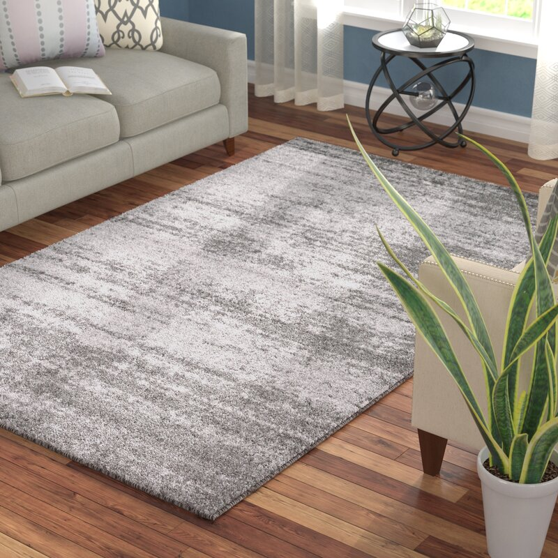 Wade Logan Croslin Gray Area Rug Amp Reviews Wayfair