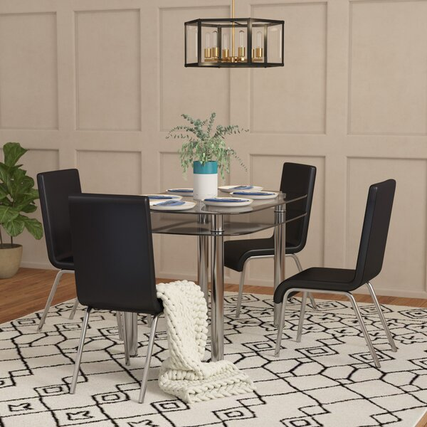 Scalise 5 Piece Dining Set by Orren Ellis