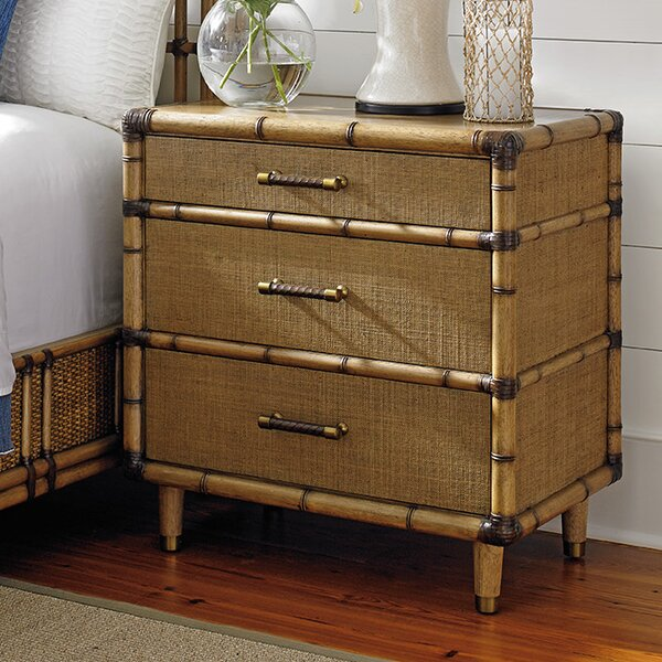 Twin Palms 3 Drawer Bachelors Chest by Tommy Bahama Home