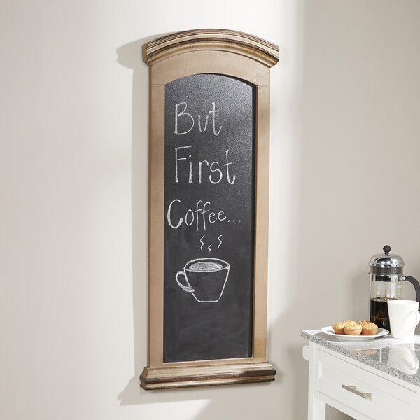 Wall Mounted Chalkboard by Darby Home Co