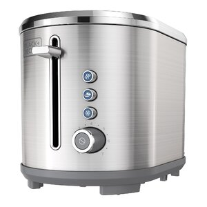 2-Slice Extra-Wide Slot Stainless Steel Toaster