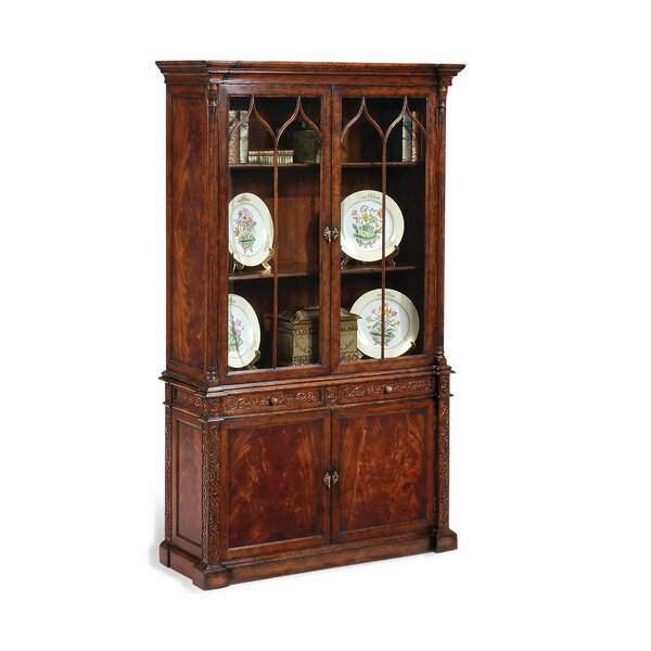Buckingham George III Gothic Glazed China Cabinet By Jonathan Charles Fine Furniture Find