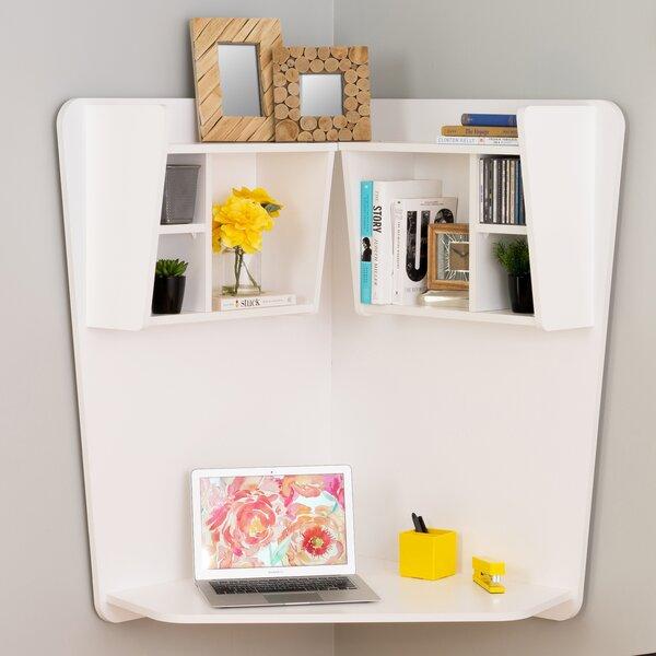 Dowlen Corner Floating Desk by Zipcode Design