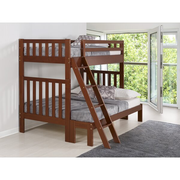 Reasor Wood Twin over Full Bunk Bed by Harriet Bee