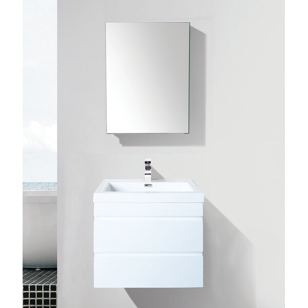 Mancilla 24 Wall-Mounted Single Bathroom Vanity Set by Orren Ellis