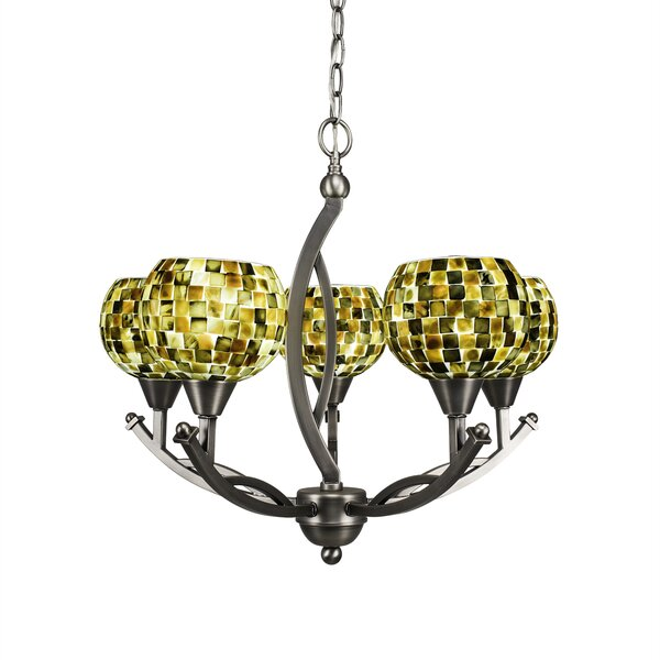 Eisenhauer 5-Light Shaded Chandelier by Red Barrel Studio