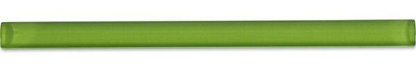 0.75 x 12 Glass Pencil Liner Tile in Fresh Green by Splashback Tile