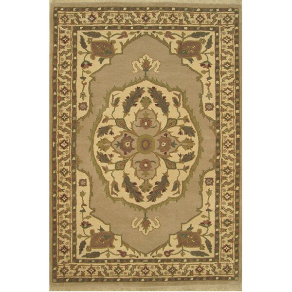 American Home Classic North West Taupe/Beige Area Rug by American Home Rug Co.