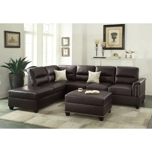 Shankle Reversible Sectional with Ottoman by Gracie Oaks