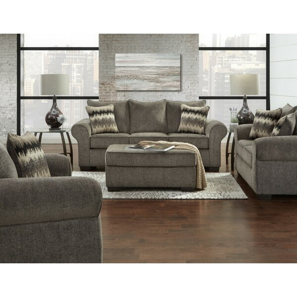 Zhenya 3 Piece Living Room Set by Red Barrel Studio