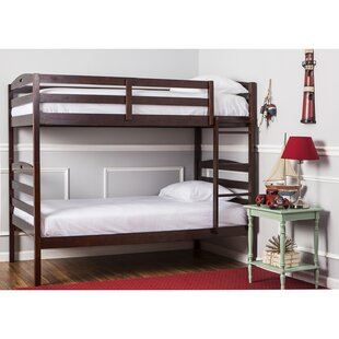 Top Reviews Nova 2-in-1 Twin over Twin Bunk Bed ByDream On Me