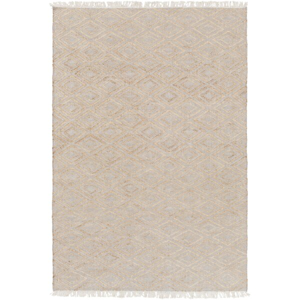 Pascal Hand-Woven Beige Area Rug by Langley Street