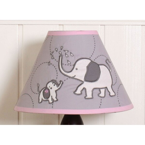Elephant 10 Empire Lamp Shade by Geenny