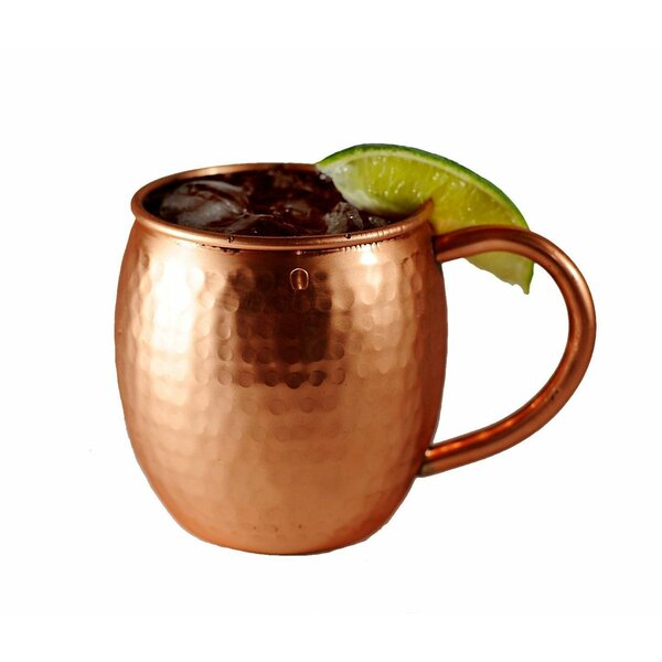 Acheton 18 oz. Moscow Mule Mug (Set of 2) by Latitude Run