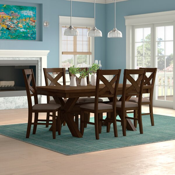 Warsaw 7 Piece Dining Set by Alcott Hill