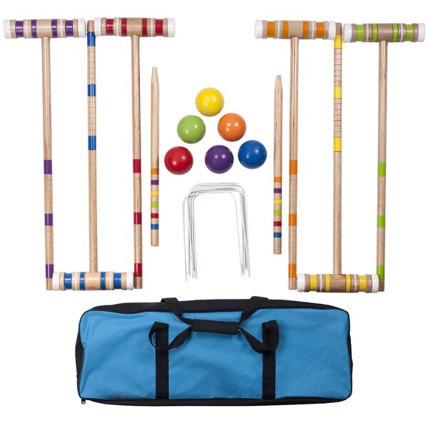 24 Piece Croquet Set by Hey! Play!