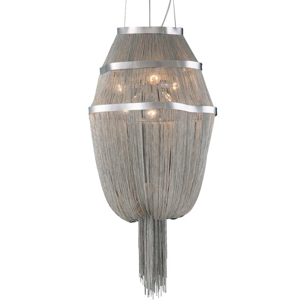 Knaresborough 6-Light Unique / Statement Geometric Chandelier by Everly Quinn Everly Quinn