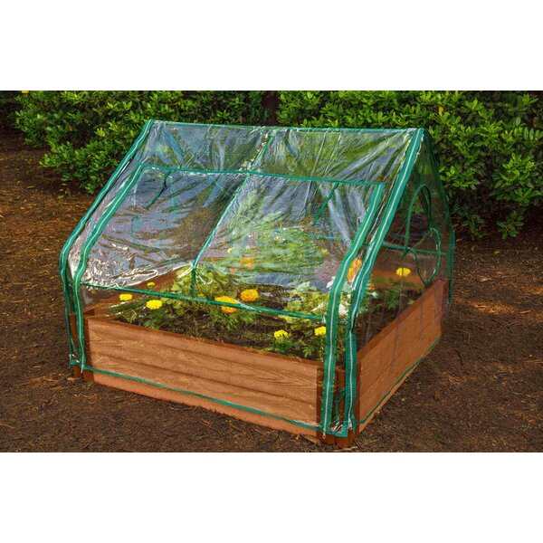 Extendable 4 Ft. W x 4 Ft. D Mini Greenhouse by Frame It All