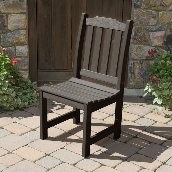Amelia Patio Dining Chair by Three Posts