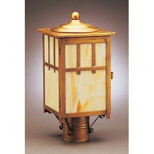 Lodge 1-Light Lantern Head By Northeast Lantern Outdoor Lighting