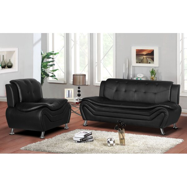 Sifford 2 Piece Living Room Set by Orren Ellis