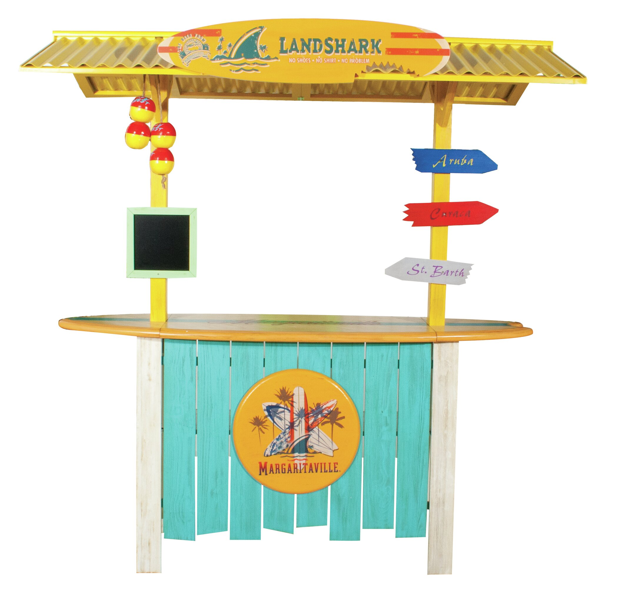 Margaritaville Landshark Tiki Bar U0026 Reviews | Wayfair