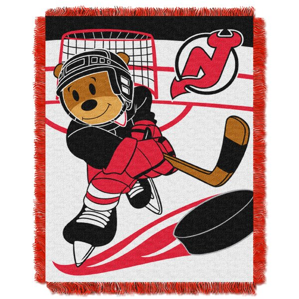 NHL Devils Baby Woven Throw Blanket by Northwest Co.