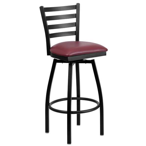 Portland 32 Swivel Bar Stool by Charlton Home
