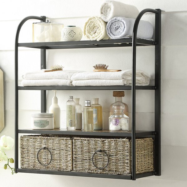 Kiowa Hanging Storage Rack with Basket by Laurel F