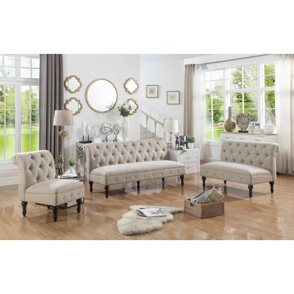 Selina 3 Piece Living Room Set By Alcott Hill by Alcott Hill Find