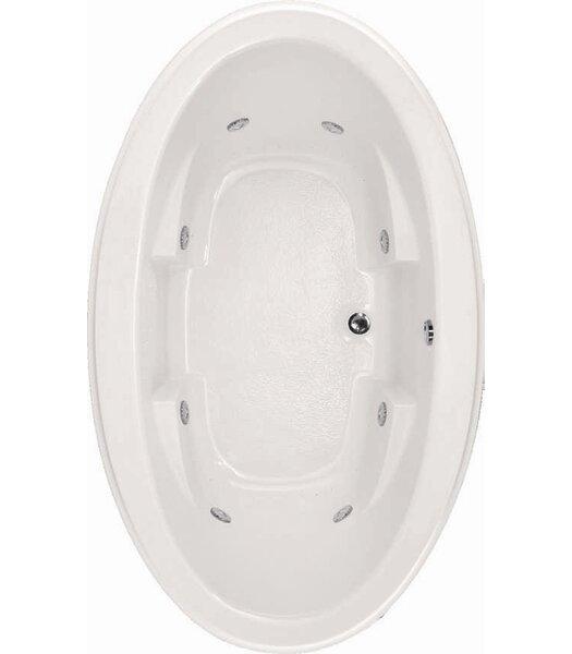 Designer Nina 72 x 44 Whirlpool Bathtub by Hydro Systems