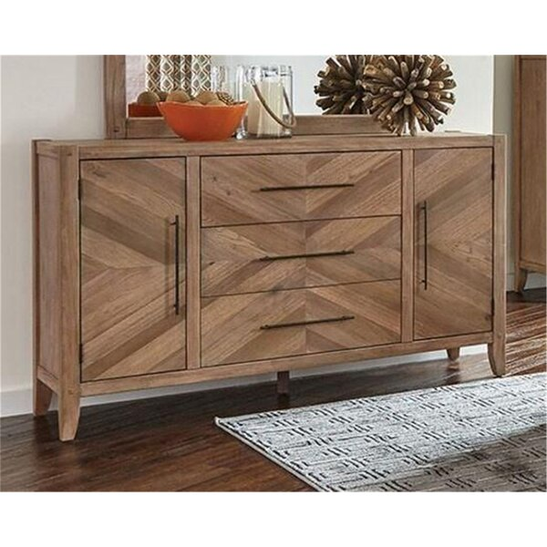 Plainville 3 Drawer Combo Dresser by Foundry Select