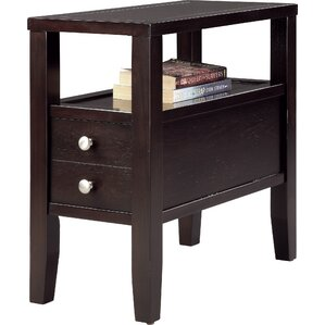 odon end table with storage