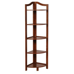 Carlotta Corner Unit Bookcase